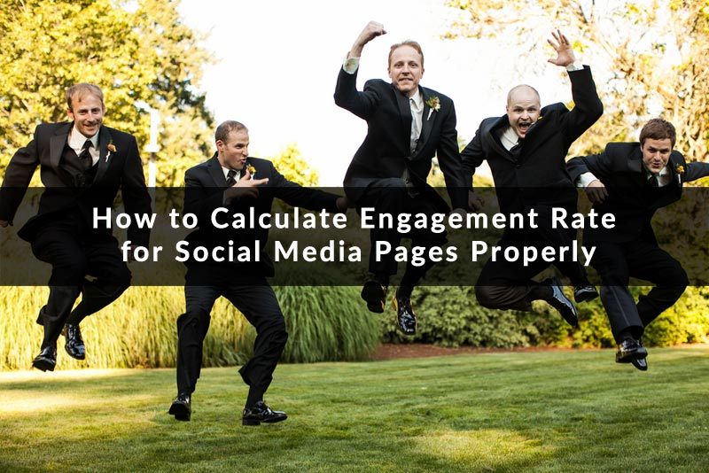 How calculate an engagement rate