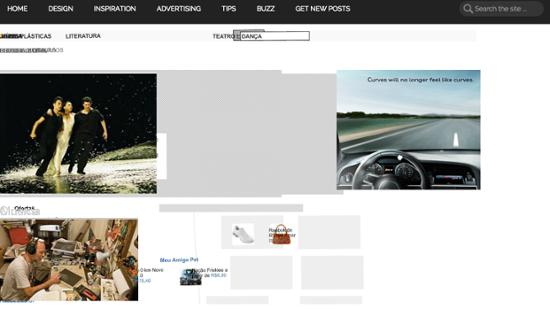 Almap BBDO banner ad for Audi