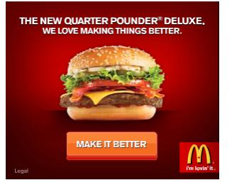 McDonalds Ad Banner