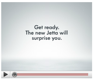 Interesting ad banner for VW