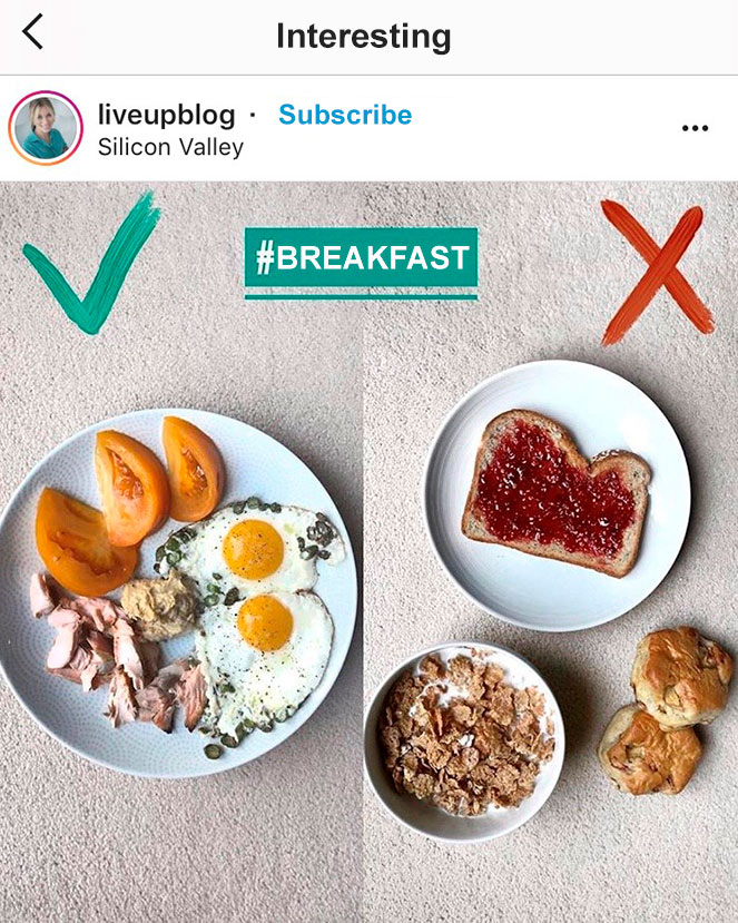 An interesting type of content from Instagram influencers