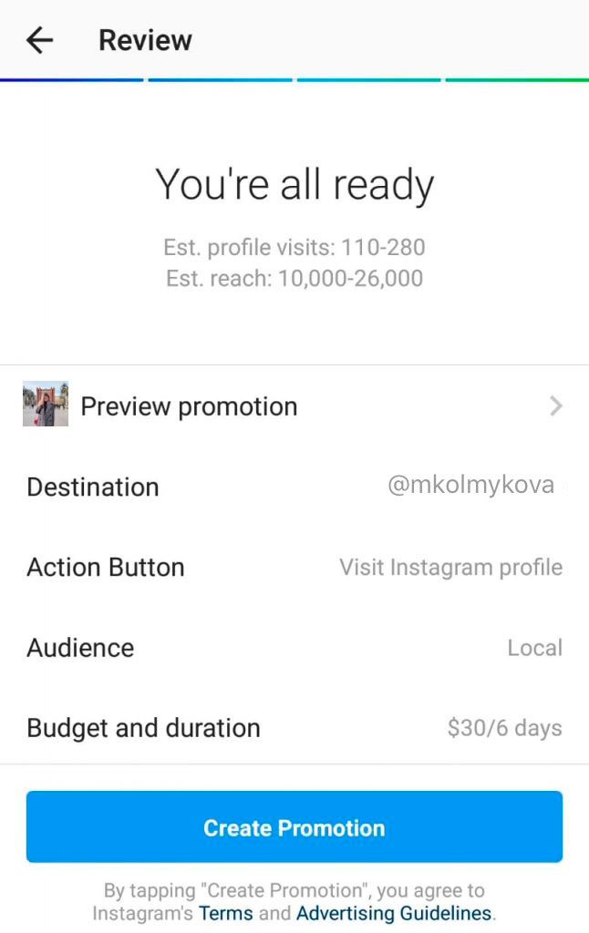 One of the ways to become successful on Instagram is to use advertising