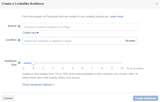 The simplest way to create and find lookalike audience on Facebook